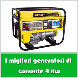 Generatore di corrente 4 kw: i 5 migliori