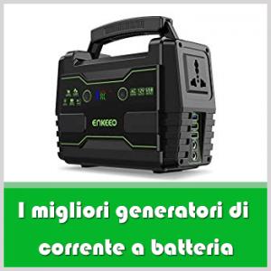 Generatore di corrente a batteria